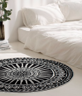 Tapete Mandala Nandi 150 cm diámetro
