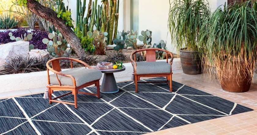 Tapete decorativo Denim Indoor Outdoor
