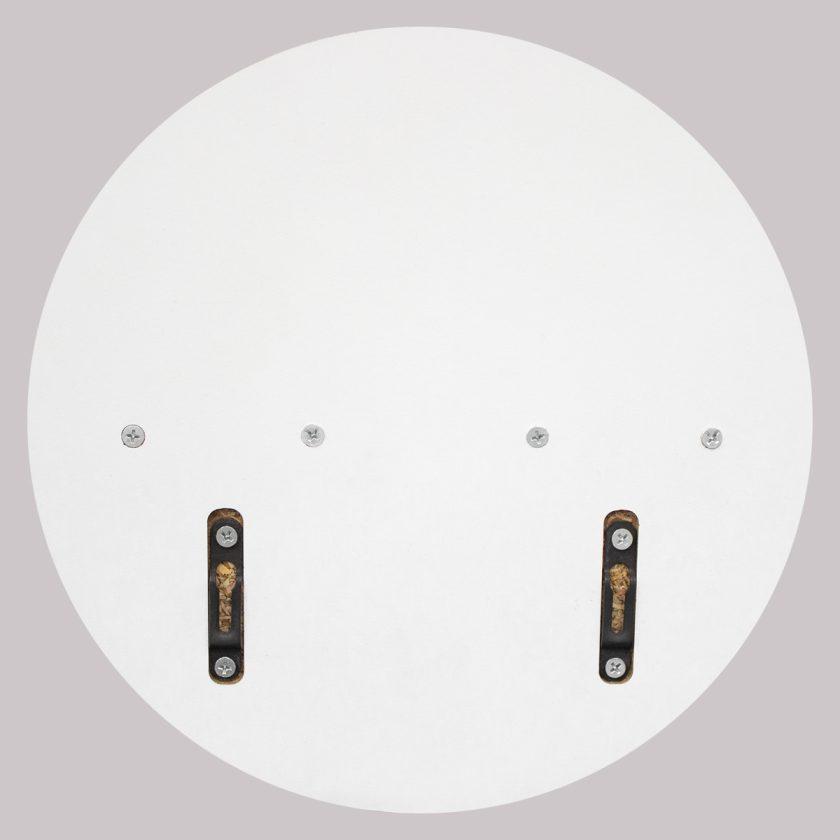 Repisa Flotante Circular – Blanca