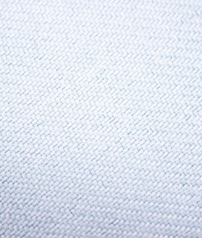 Juego de 2 Cojines lisos 45x45 cm - Celeste
