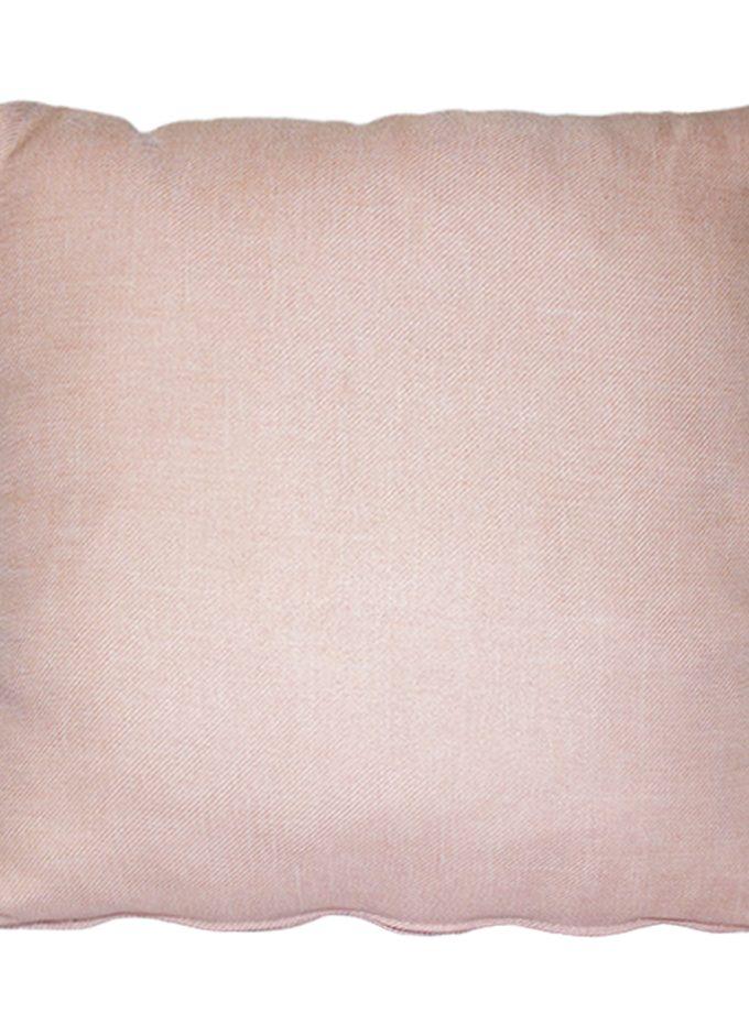 Juego de 2 Cojines lisos 45×45 cm – Palo de rosa