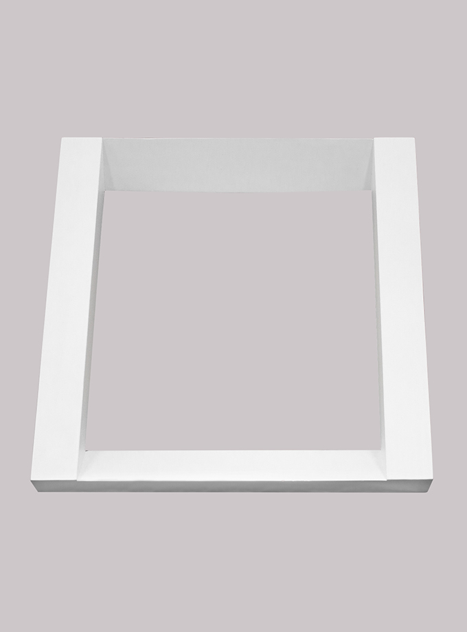 Repisa Flotante Cuadro – Blanco