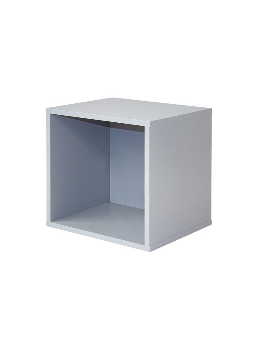 Librero Cubo Mik Simple Gris