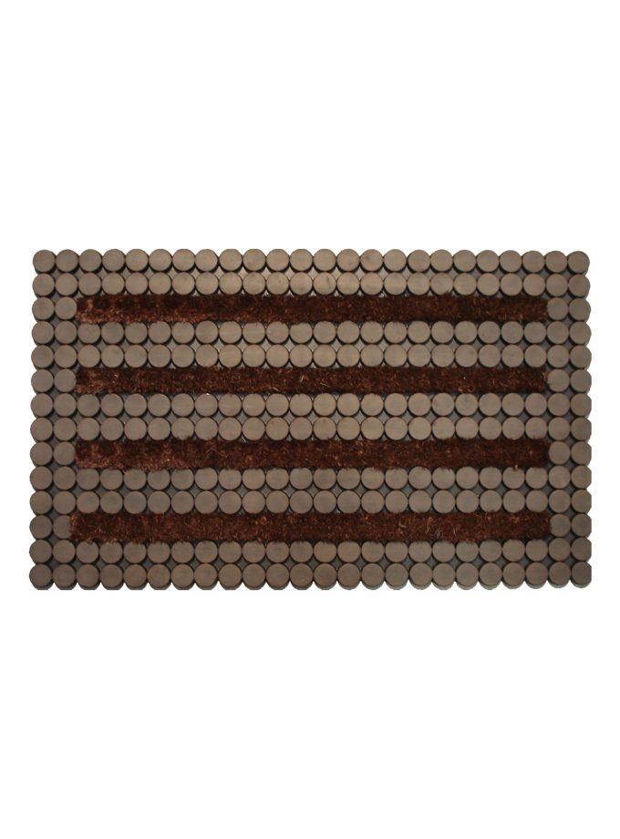 Tapete de entrada Dots 45×75 cm
