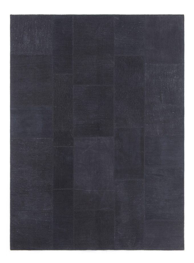 Tapete Patchwork Turco Hemp Negro 155×238 cm