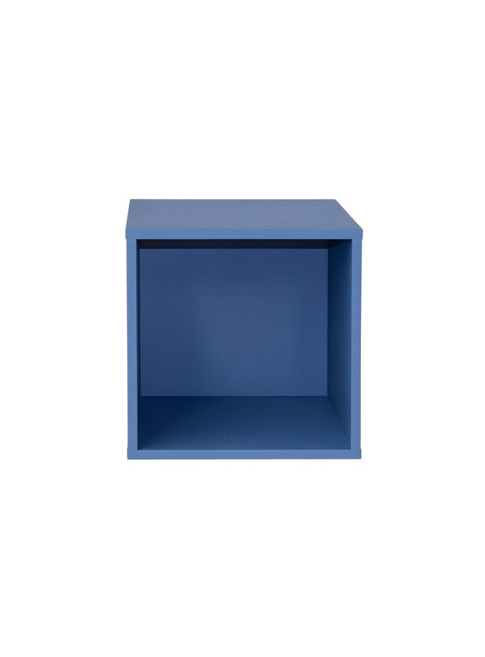 Librero Cubo Mik Simple Azul