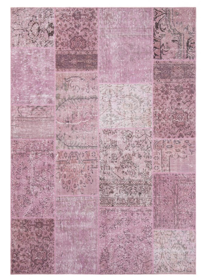 Tapete Patchwork Turco Rosa 170×240 cm