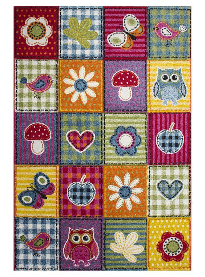 Tapete decorativo Infantil Funny Kids 160×230 – Colours