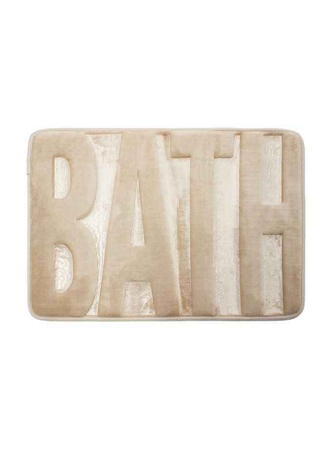 Tapete de Baño Memory Bath 40x60 cm