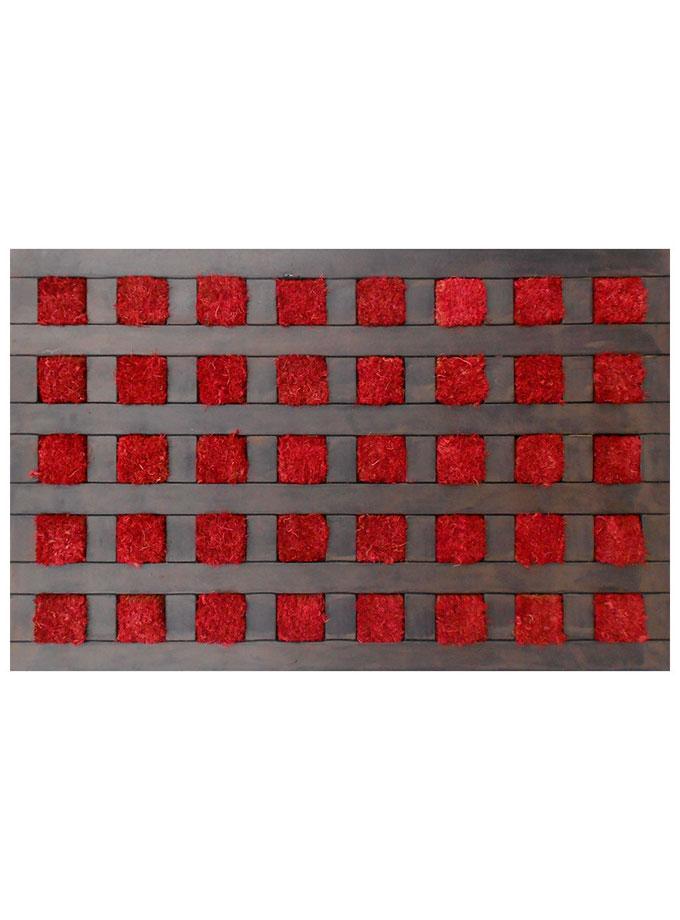 Tapete de entrada Square 45×75 cm