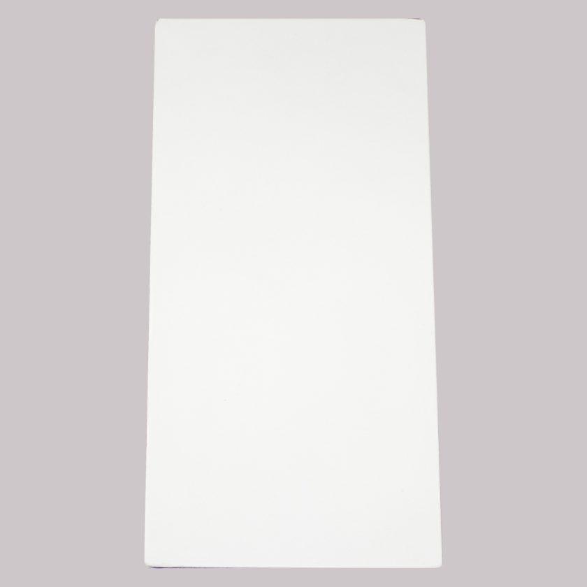 Repisa Flotante Triángular – Blanca