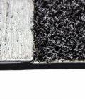Tapete de entrada Wool Look 45×75 cm – Plata