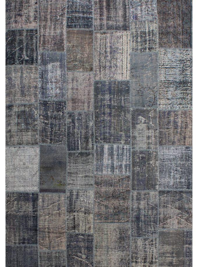Tapete patchwork turco gris 208×301 cm