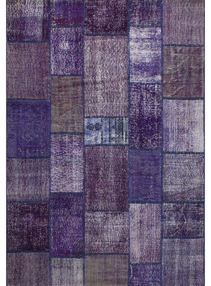 Tapete patchwork turco morado 170×240 cm