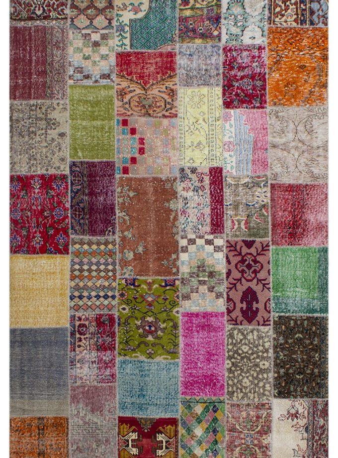 Tapete patchwork turco multi 194×297 cm