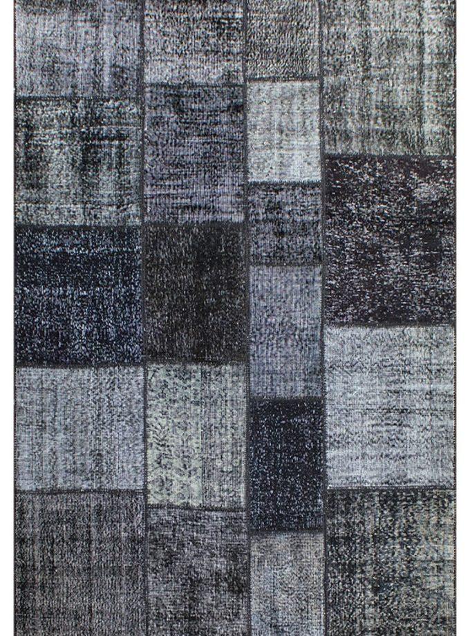 Tapete patchwork turco negro 176×240 cm