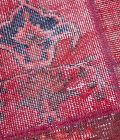 Tapete patchwork turco rojo 205×305 cm