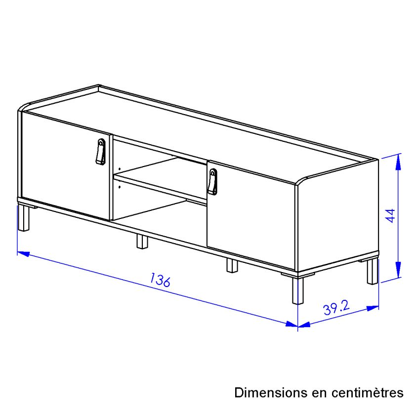 Mesa de Tv Colmar