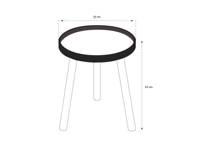 Mesa lateral Fan