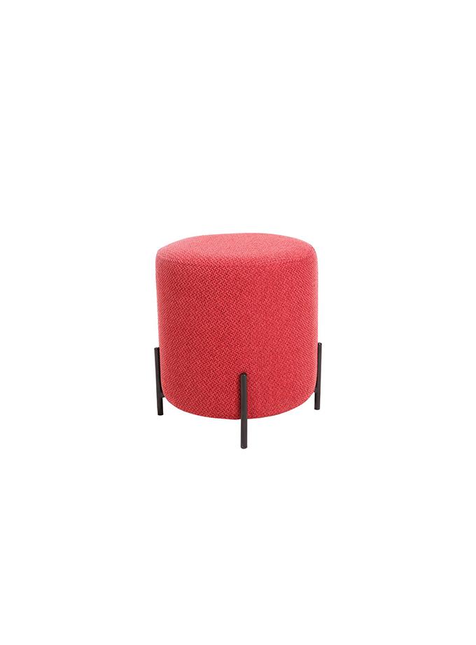 Taburete Varenna rojo